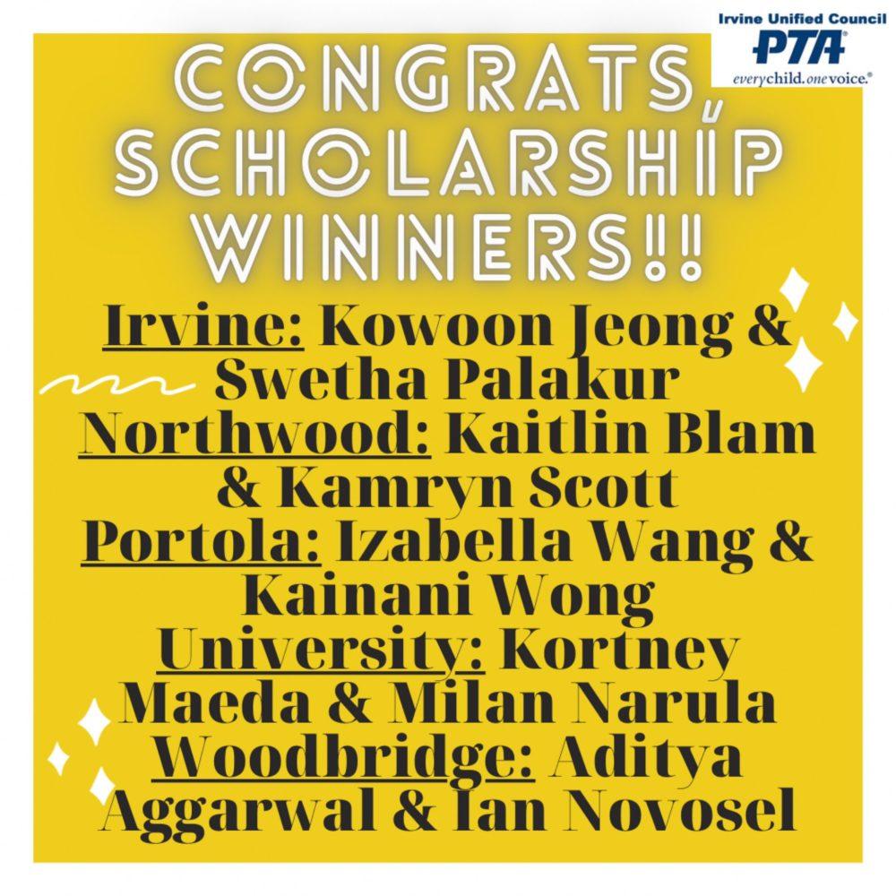IUCPTA Senior Scholarship 21