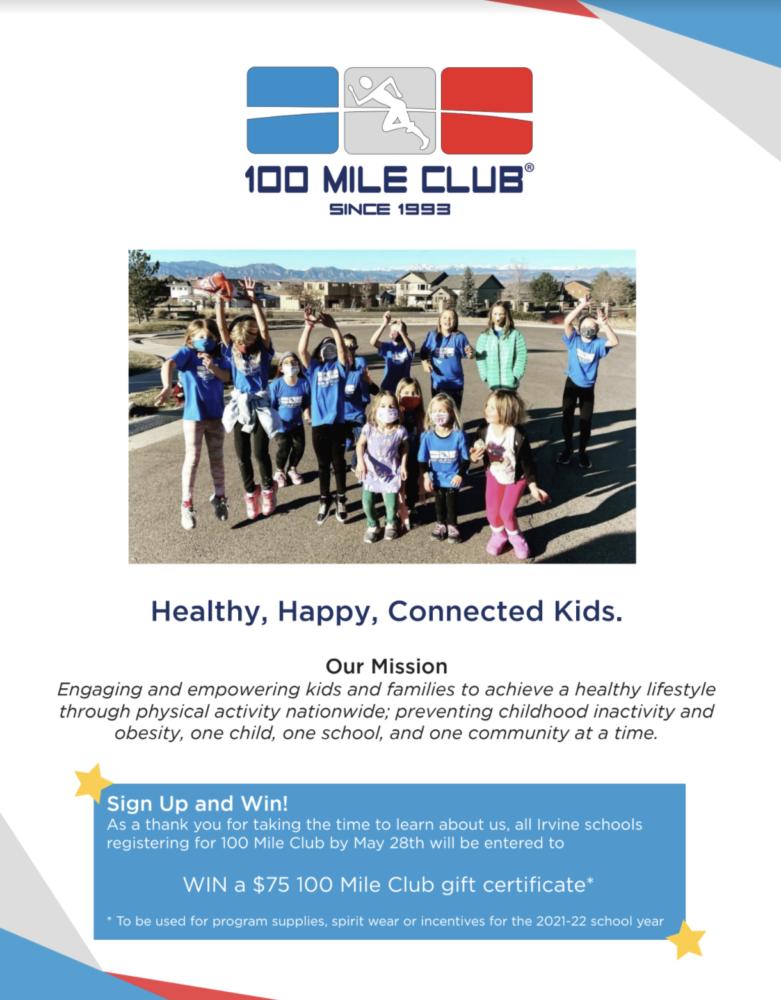 100 Mile Club Flyer