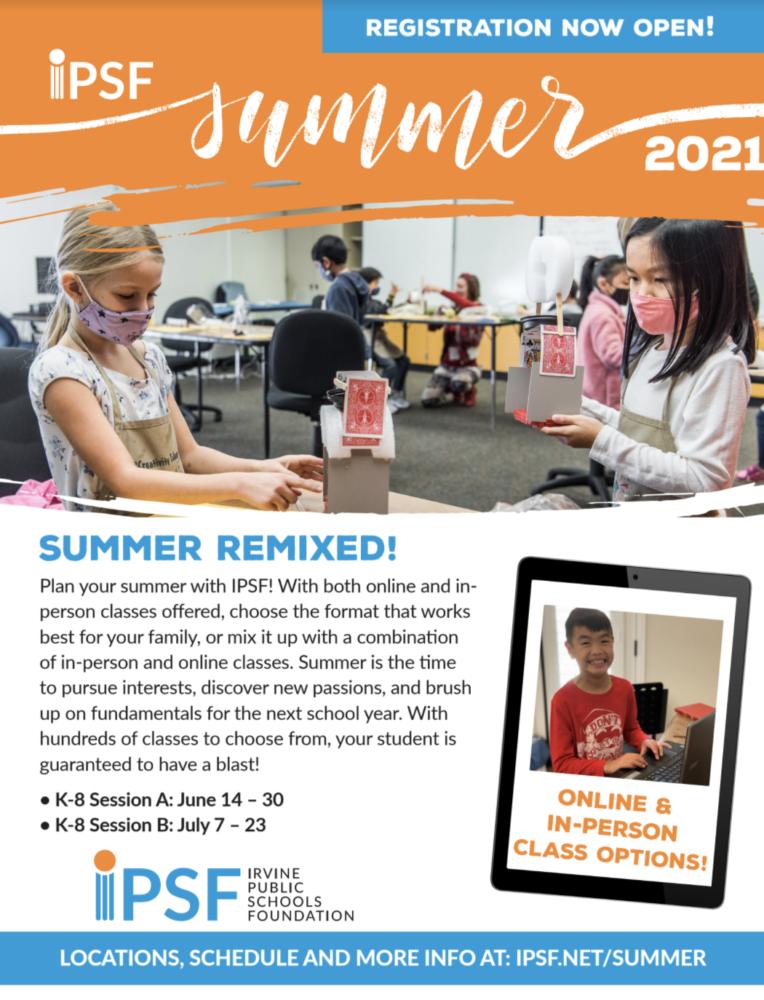 IPSF Summer Flyer