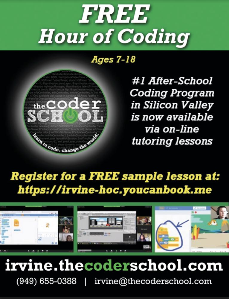 Coder school flyer